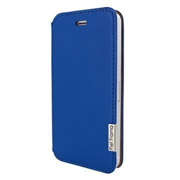iPhone 5 / 5S / SE Piel Frama Framaslim Nahkakotelo Sininen