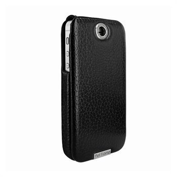 iPhone 5 / 5S / SE Piel Frama Iforte Nahkainen Kotelo Musta
