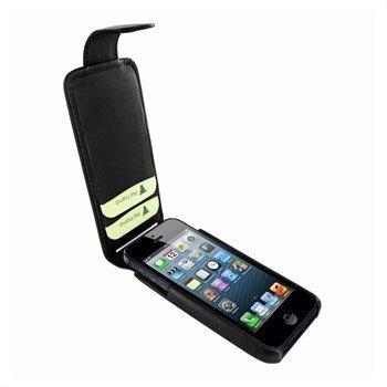 iPhone 5 / 5S / SE Piel Frama iMagnum2 Nahkakotelo Musta