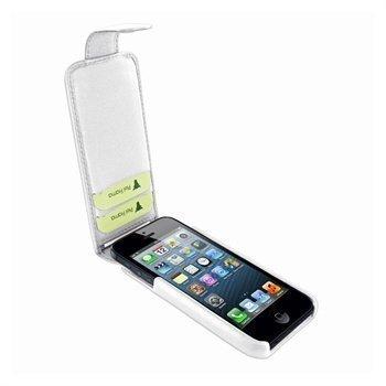 iPhone 5 / 5S / SE Piel Frama iMagnum2 Nahkakotelo Valkoinen