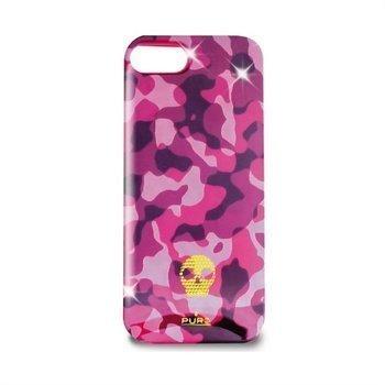 iPhone 5 / 5S / SE Puro Army Suojakuori Vaaleanpunainen