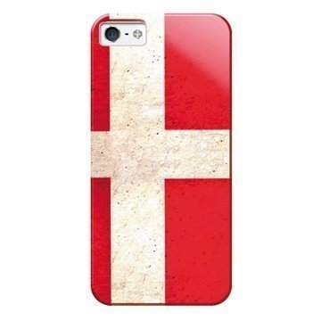 iPhone 5 / 5S / SE Puro Case Denmark Flag