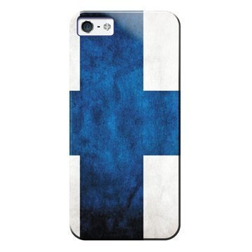 iPhone 5 / 5S / SE Puro Case Finnish Flag