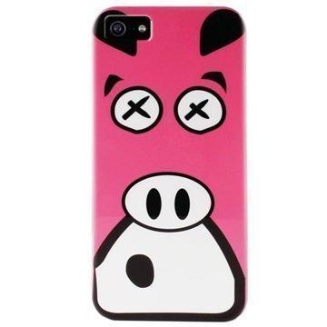 iPhone 5 / 5S / SE Puro Crazy Zoo TPU-Kotelo Sika