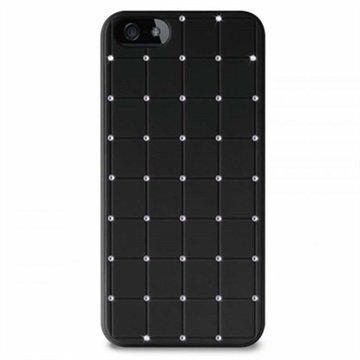 iPhone 5 / 5S / SE Puro Easy Chic Kova Suojakuori Musta