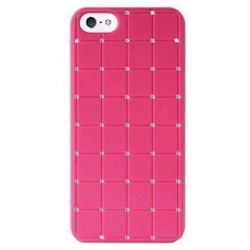 iPhone 5 / 5S / SE Puro Easy Chic Kova Suojakuori Pinkki