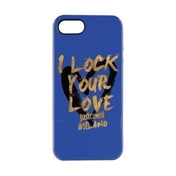 iPhone 5 / 5S / SE Puro Just Cavalli TPU Cover Blue