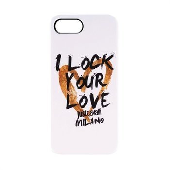 iPhone 5 / 5S / SE Puro Just Cavalli TPU Cover White