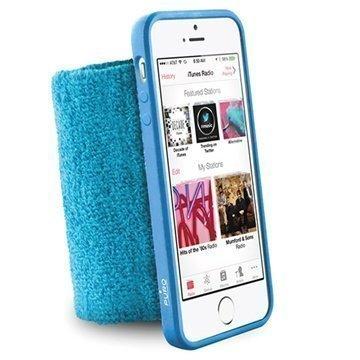iPhone 5 / 5S / SE Puro Lenkkeily Rannenauha Sininen