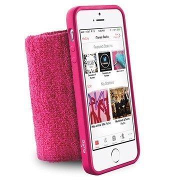 iPhone 5 / 5S / SE Puro Lenkkeily Rannenauha Vaaleanpunainen