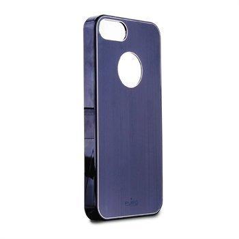 iPhone 5 / 5S / SE Puro Metal Effect Suojakuori Sininen