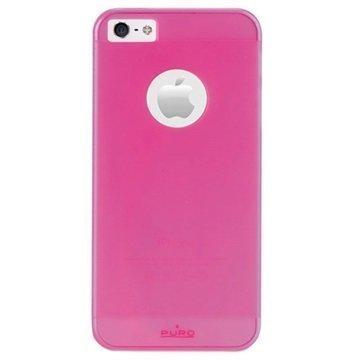 iPhone 5 / 5S / SE Puro Rainbow Kovakuori Pinkki