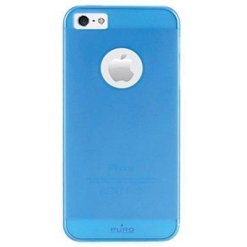 iPhone 5 / 5S / SE Puro Rainbow Kovakuori Sininen