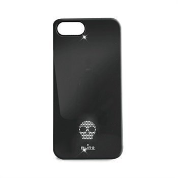 iPhone 5 / 5S / SE Puro Skull Suojakuori Musta