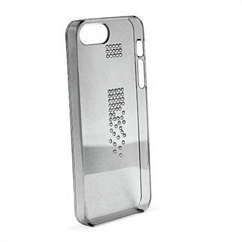 iPhone 5 / 5S / SE Puro Swarovski CASCADE Kristallikotelo Musta