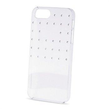 iPhone 5 / 5S / SE Puro Swarovski GRID Kristallikotelo Läpinäkyvä