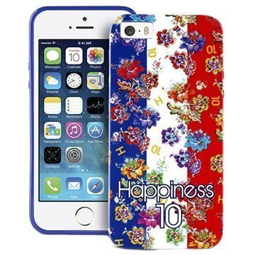iPhone 5 / 5S / SE Puro World Cup Suojakuori Ranskan Lippu