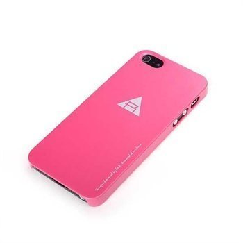 iPhone 5 / 5S / SE ROCK NakedShell Case Red Pink