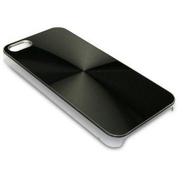 iPhone 5 / 5S / SE Sandberg AluCircle Kotelo Musta