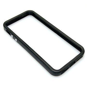 iPhone 5 / 5S / SE Sandberg Pro Frame Puskuri Musta