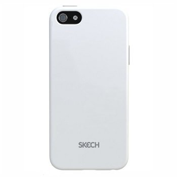 iPhone 5 / 5S / SE Skech Groove Napsautuskuori Valkoinen