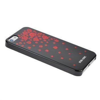iPhone 5 / 5S / SE StarCase Bling Cover Black