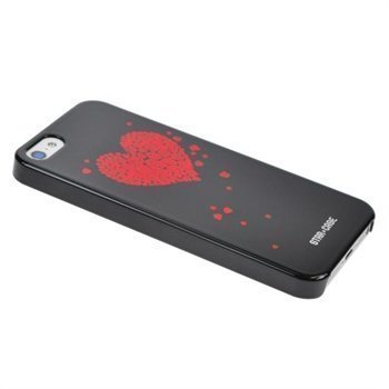 iPhone 5 / 5S / SE StarCase Bling Cover Black