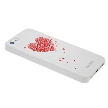 iPhone 5 / 5S / SE StarCase Bling Cover White