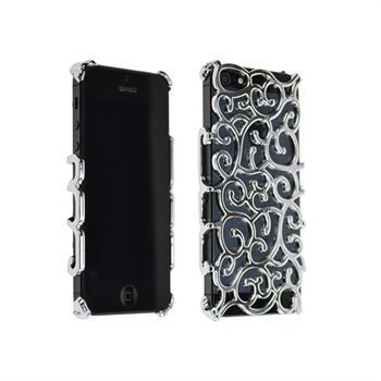 iPhone 5 / 5S / SE StarCase Stone Style Cover Chrome