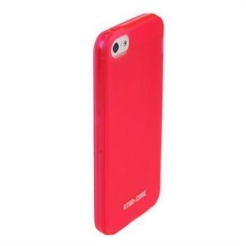 iPhone 5 / 5S / SE StarCase TPU Case Transparent Red