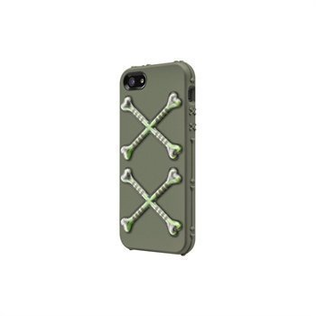 iPhone 5 / 5S / SE SwitchEasy BONES Kotelo Harmaa