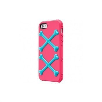 iPhone 5 / 5S / SE SwitchEasy BONES Kotelo Pinkki