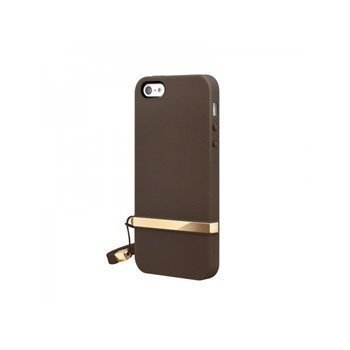 iPhone 5 / 5S / SE SwitchEasy Lanyard Case Brown