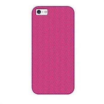 iPhone 5 / 5S / SE Tucano Spigato Kotelo Fuksianpunainen