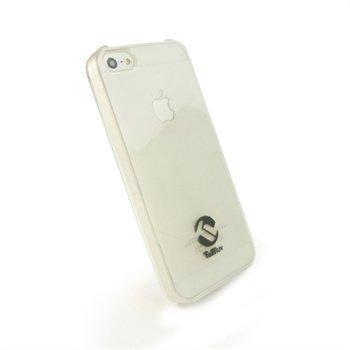 iPhone 5 / 5S / SE Tuff-Luv Hard Gel Napsautuskuori Valkoinen