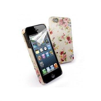 iPhone 5 / 5S / SE Tuff-Luv Tuff-Shell Secret Garden Suojakuori Beige