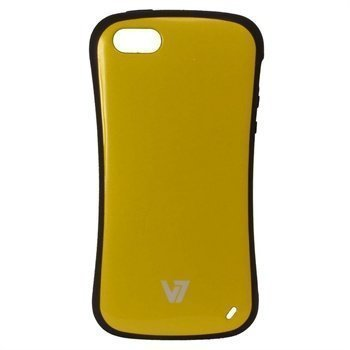 iPhone 5 / 5S / SE V7 Extreme Guard Suoja Keltainen