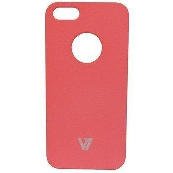 iPhone 5 / 5S / SE V7 Metro Anti-Slip Kotelo Vaaleanpunainen