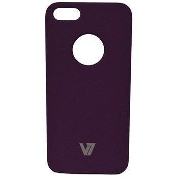 iPhone 5 / 5S / SE V7 Metro Anti-Slip Kotelo Violetti