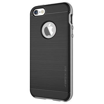 iPhone 5 / 5S / SE VRS Design High Pro Shield Series Kotelo Vaalea Hopea