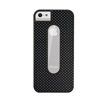 iPhone 5 / 5S / SE X-Doria Dash Takakuori Musta