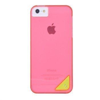 iPhone 5 / 5S / SE X-Doria Engage Slim Suojakuori Pinkki