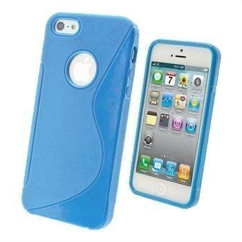 iPhone 5 / 5S / SE iGadgitz Dual Tone Napsautuskuori Sininen