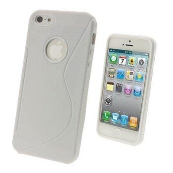 iPhone 5 / 5S / SE iGadgitz Dual Tone Napsautuskuori Valkoinen