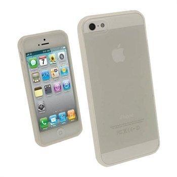 iPhone 5 / 5S / SE iGadgitz Glossy Durable TPU Napsautuskuori Kirkas