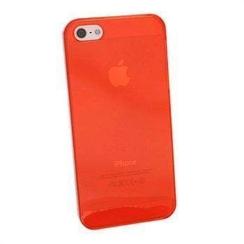 iPhone 5 / 5S / SE iGadgitz Kovakantinen Suojakotelo Punainen