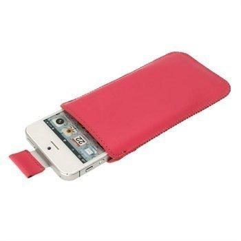 iPhone 5 / 5S / SE iGadgitz Nahkakotelo Pinkki