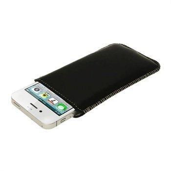 iPhone 5 / 5S / SE iGadgitz Skinnveske Svart