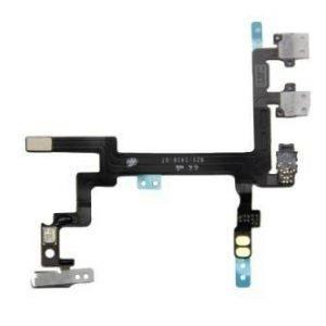 iPhone 5 Virtanapin ja äänenvoimakkuuden flex-kaapeli