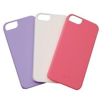 iPhone 5 iPhone 5S iPhone SE Konkis Suojakuorisarja 3in1 Valkoinen / Violetti / Pinkki